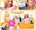 Blondes en liveshow
